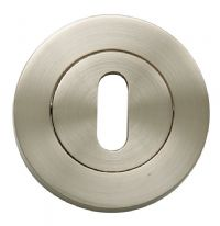 Oro & Oro Keyhole Escutcheon Pack 2 - Polished Chrome